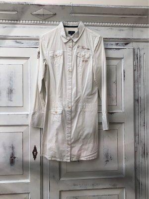 L'Argentina Long Sleeve Blouse white
