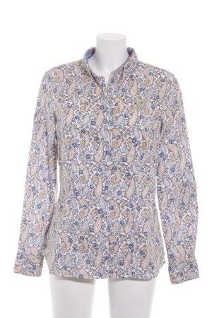 L'Argentina Langarm-Bluse mehrfarbig extravaganter Stil