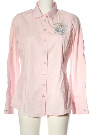 L'Argentina Long Sleeve Shirt pink casual look