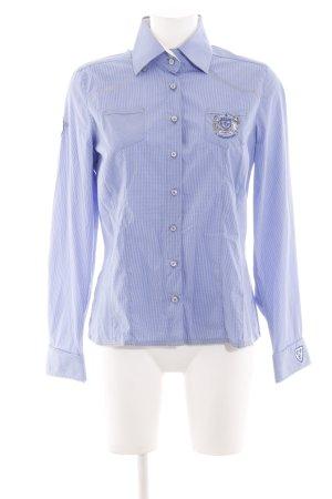 L'Argentina Langarmhemd blau Casual-Look