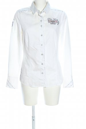 L'Argentina Long Sleeve Shirt white casual look