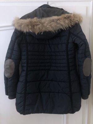 L'Argentina Manteau à capuche multicolore