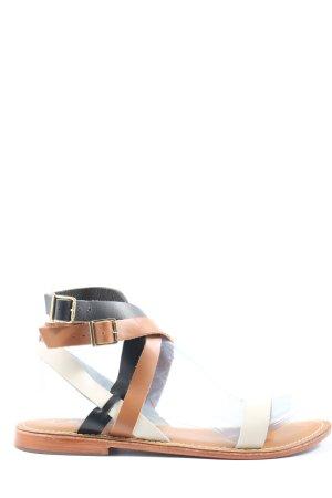 L'Atelier Tropezien Sandalias cómodas multicolor look casual