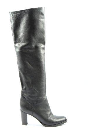 L'Autre Chose Wysokie buty na obcasie czarny W stylu biznesowym