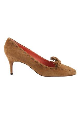 L'Autre Chose High Heels bronzefarben Elegant