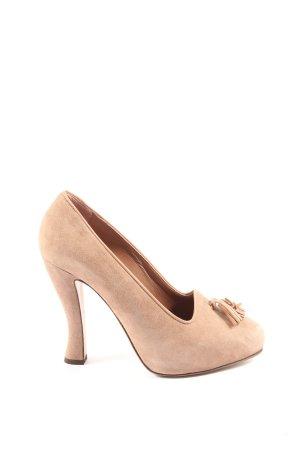 L'Autre Chose High Heels creme Business-Look