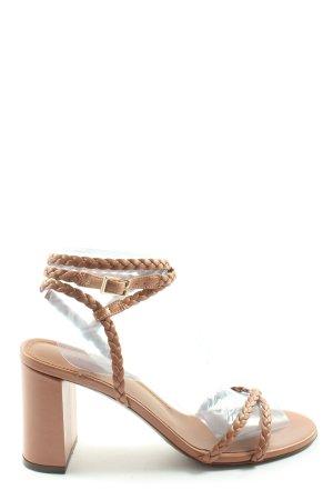 L'Autre Chose Riemchen-Sandaletten braun Casual-Look