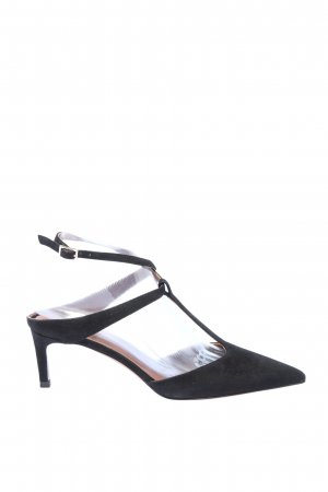 L'Autre Chose Slingback pumps zwart zakelijke stijl