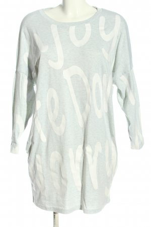 L.B.C Sweat Dress light grey-white flecked casual look