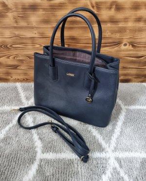 L. Credi Damen Henkeltasche Handtasche blau marine