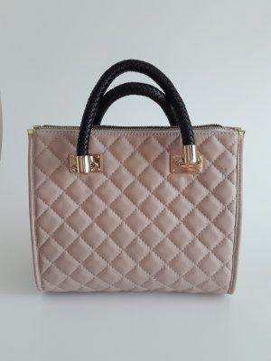 L.Credi Handtasche, Henkeltasche rose, rosa mittelgroß