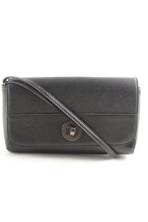 L.credi Mini sac noir style d'affaires