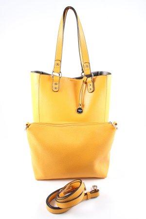 L.credi Shopper blassgelb Casual-Look