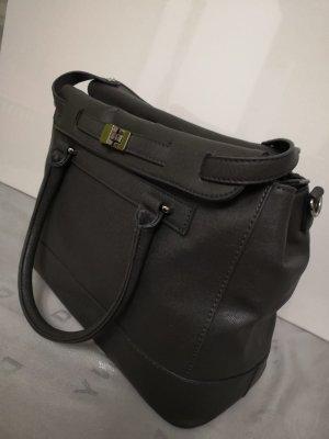 L.Credi Tasche mit abnehmbaren Schultergurt im Business-Look