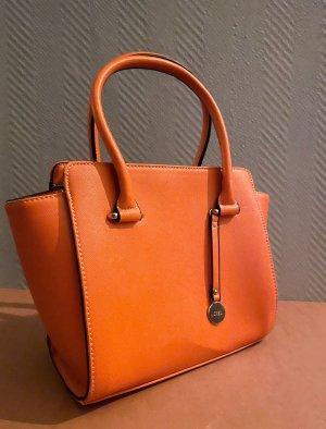 L.Credi Tasche Orange klein Handtasche