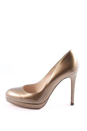 L.k. bennett High Heels bronzefarben Business-Look