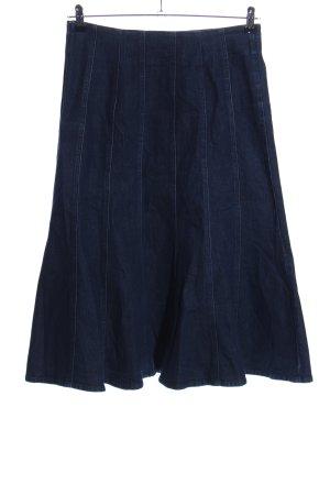 L.k. bennett Gonna di jeans blu stile casual