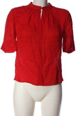 L.k. bennett Camicetta a maniche corte rosso stile casual