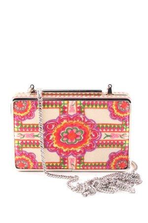 L.k. bennett Minitasche pink-creme Blumenmuster Elegant