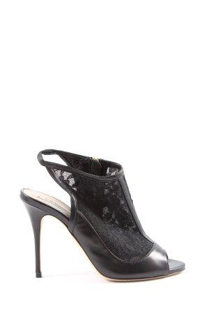 L.k. bennett Slingback-Pumps schwarz Elegant
