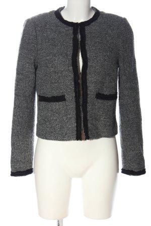 L.k. bennett Blazer in maglia grigio chiaro puntinato stile casual