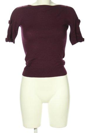 L.k. bennett Camicia maglia lilla stile casual