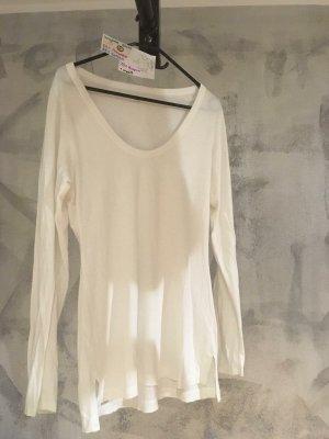 Gap Camisa larga blanco