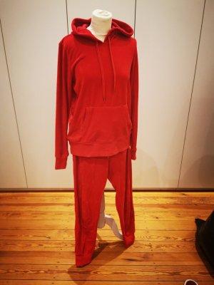 H&M L.O.G.G. Robe Sweat rouge