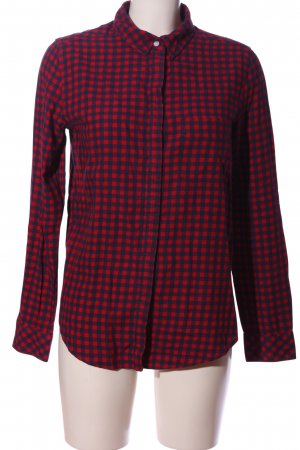 L.O.G.G Flanellhemd rot-blau Karomuster Casual-Look
