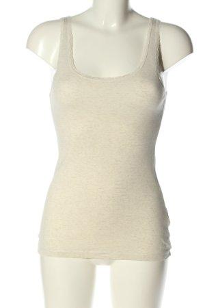 L.O.G.G. H&M Top basic w kolorze białej wełny Melanżowy W stylu casual