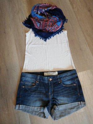 H&M L.O.G.G. Denim Shorts blue