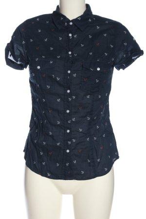 L.O.G.G. H&M Camicia a maniche corte stampa integrale stile casual