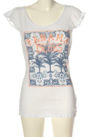 L.O.G.G. H&M Print-Shirt Motivdruck Casual-Look