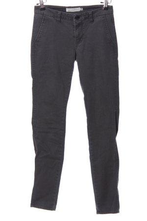 L.O.G.G Spodnie z wysokim stanem jasnoszary W stylu casual