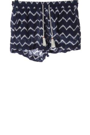 L.O.G.G Krótkie szorty niebieski-biały W stylu casual