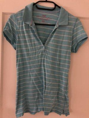 L.O.G.G Koszulka polo jasnoniebieski-biały