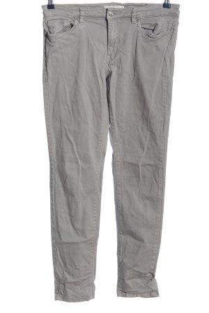 L.O.G.G Pantalón de tubo gris claro look casual