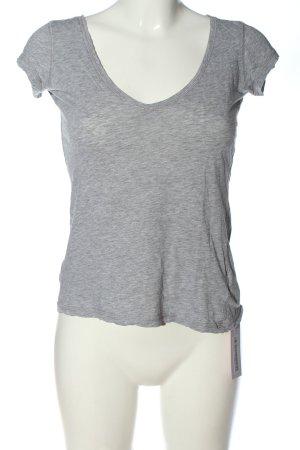 L.O.G.G T-Shirt hellgrau Casual-Look