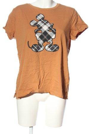 L.O.G.G T-Shirt Motivdruck Casual-Look