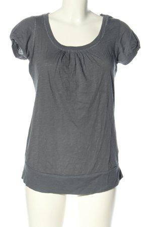 L.O.G.G T-Shirt hellgrau meliert Casual-Look