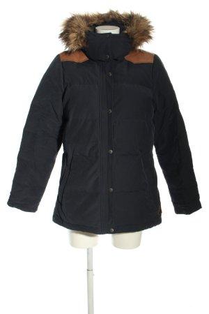 L.O.G.G Winter Jacket black-light orange casual look
