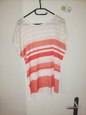 L t shirt weiß rosa janina