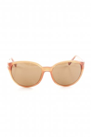 L'wren scott Gafas color bronce-naranja claro look casual
