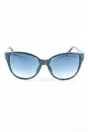 L'wren scott Brille blau abstraktes Muster Casual-Look