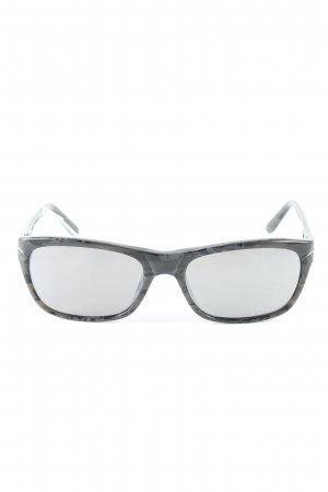 L'wren scott Brille schwarz abstraktes Muster Casual-Look