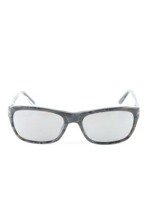 L'wren scott Brille schwarz abstraktes Muster Casual-Look