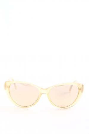 L'wren scott Gafas de sol ovaladas color oro look casual