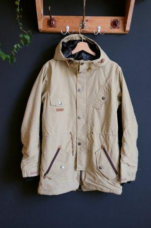 Outdoor Jacket beige-oatmeal polyester