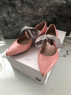 L37 Bailarinas de tira rosa