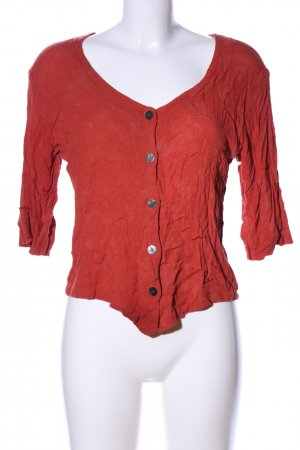 La Boum Giacca-camicia rosso stile casual